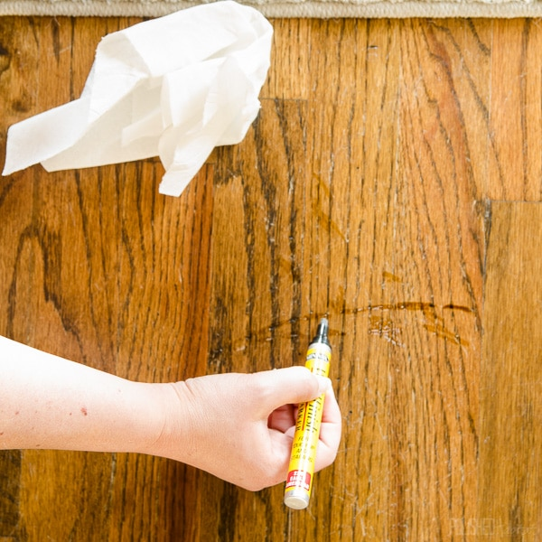 How to Repair Wood Floor Scratches Quick Fix Friday Polished Habitat