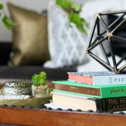 How to Style a Coffee Table 2 Different Ways | One Table + 2 Looks | This is our Bliss