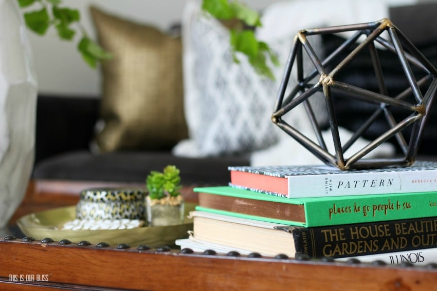 How to Style a Coffee Table Two Different Ways | 1 table + 2 looks!
