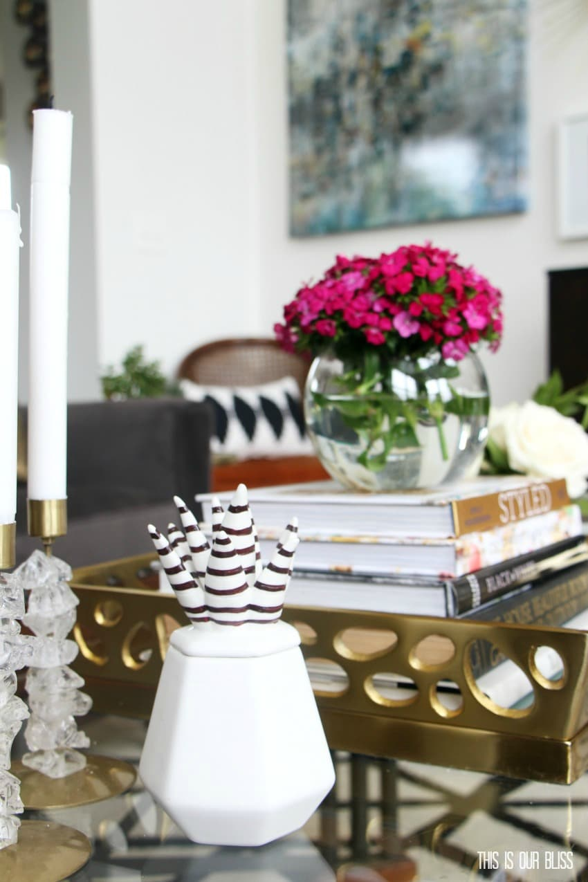 How to style a coffee table two different ways 1 table 2 looks how to style a coffee table 2 different ways one table 2 looks geotapseo Image collections