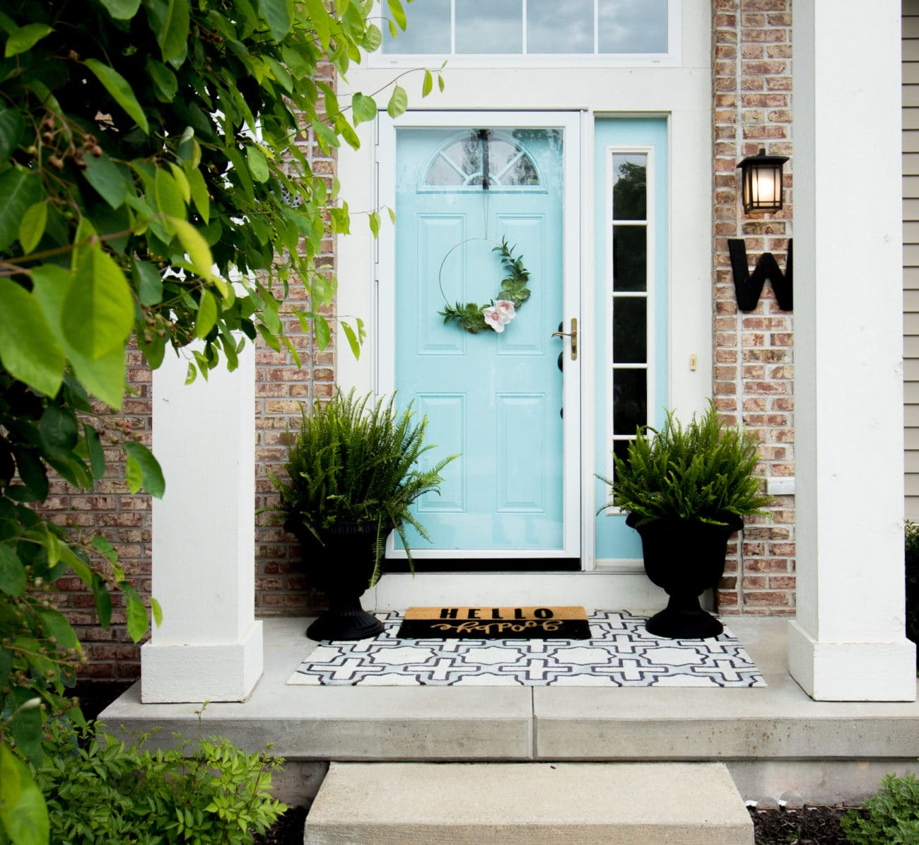 Budget Friendly Ways To Spruce Up Your Front Porch Polished Habitat