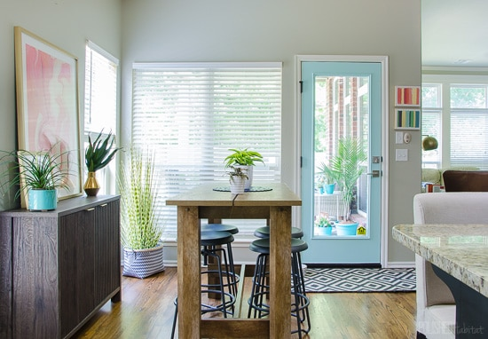 Creating Cohesion Between Rooms {In an Hour, On a Budget}