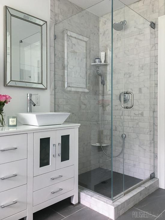Tamara's Master Bathroom Before & After!