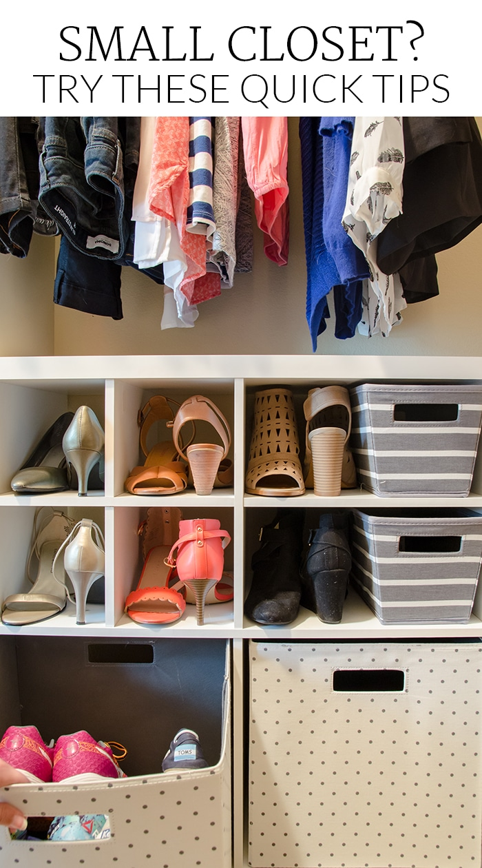 Tips for Overcoming a Small Closet, Even In a Rental!