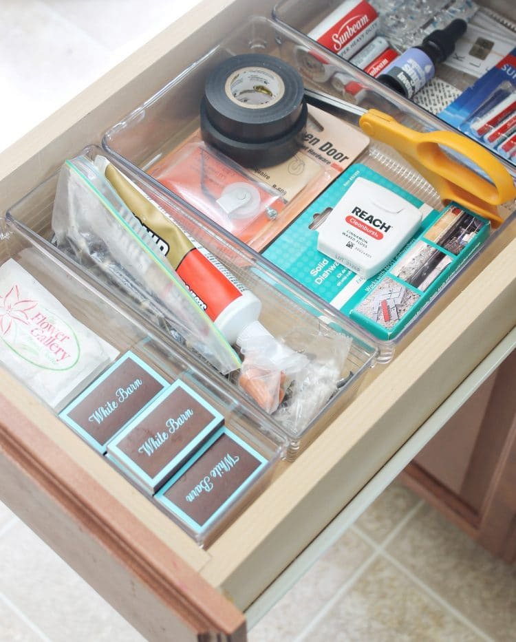 Organization Ideas For Junk Drawers: How To Organize The Kitchen Junk Drawer