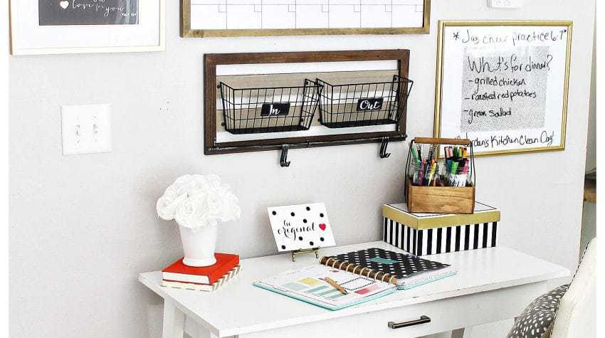 Back to School Organizations - Tips for creating a homework stations for every age! Elementary, Middle School & High Schoole