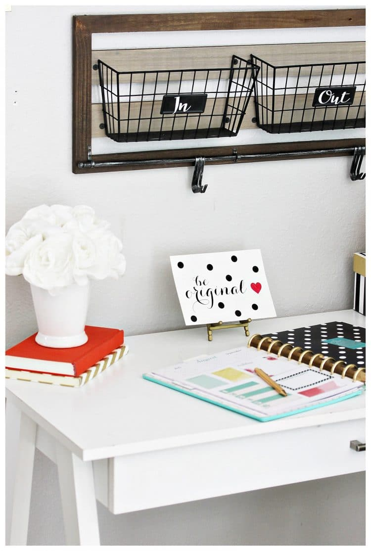 organized homework station tips for elementary middle
