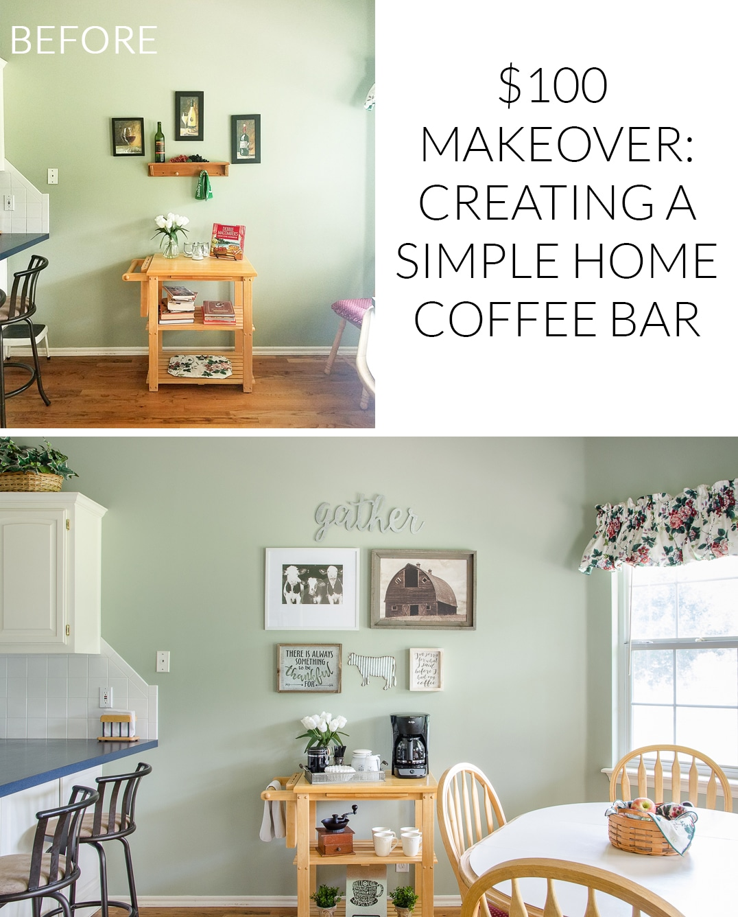 Tips for Creating a Simple Home Coffee Bar On a Budget