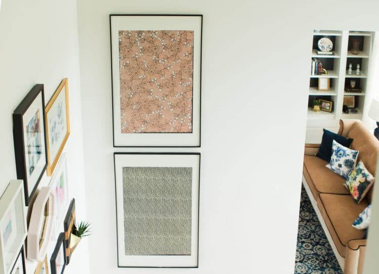 Oversized Art: A Quick, Cheap, DIY Way to Fill Big Walls! - Polished ...