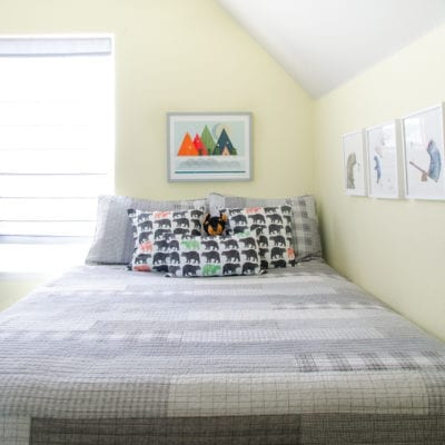 Camping Theme Room – A Boy's Room Makeover