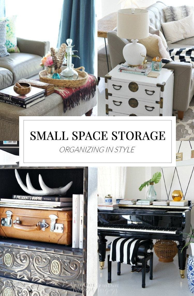 Beautiful storage solutions for small spaces and rentals polished habitat - Small spaces storage solutions image ...