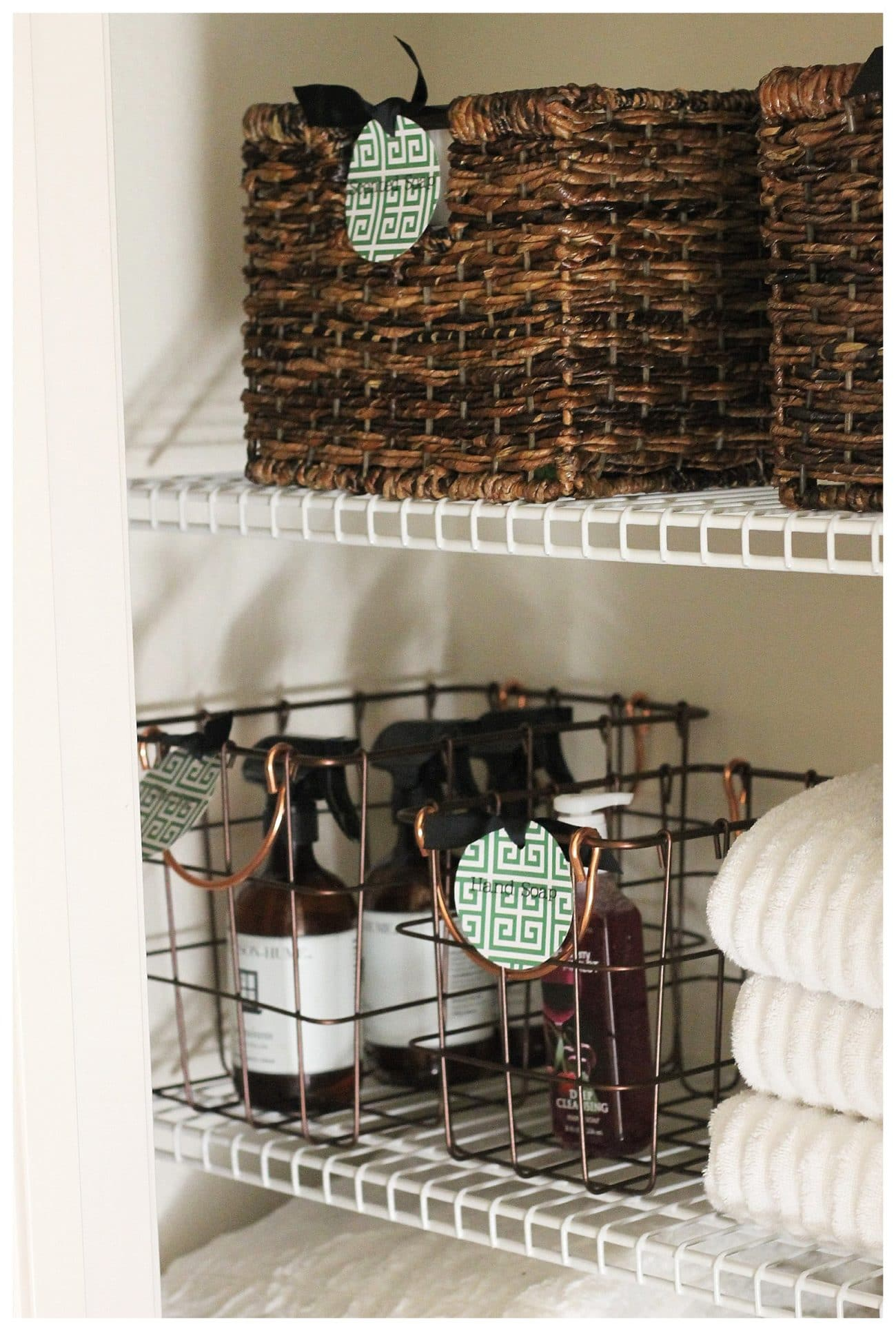 Charming Quick, Functional, Cost Effective Ways To Organize Your Linen Closet AND  Keep It Smelling Great. Design Inspirations