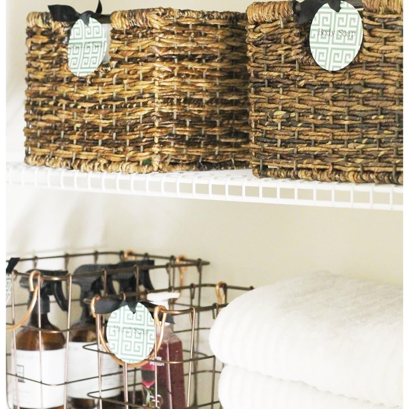 Quick Tips for Linen Closet Organization