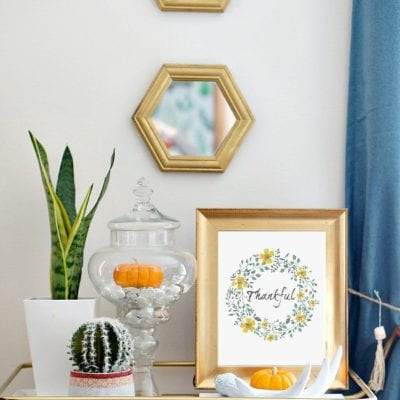 Seasonal Decorating Hack {Renter-Friendly, Budget-Friendly, & Time-Friendly}