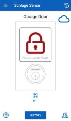 Schlage Sense App