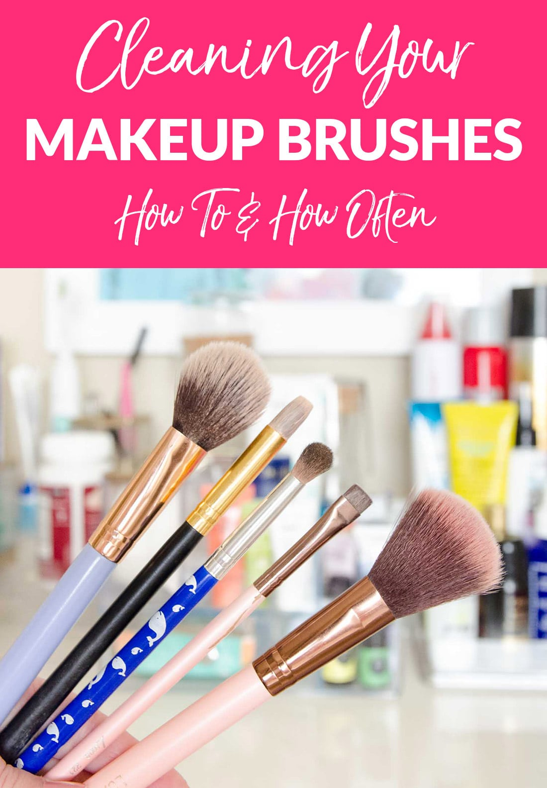 How To Clean Makeup Brushes Fast Fix Friday Polished