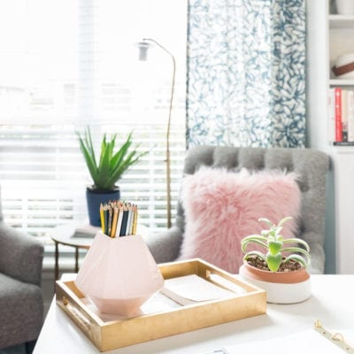 5 Ways to Use One Small Vase – Fast Friday!