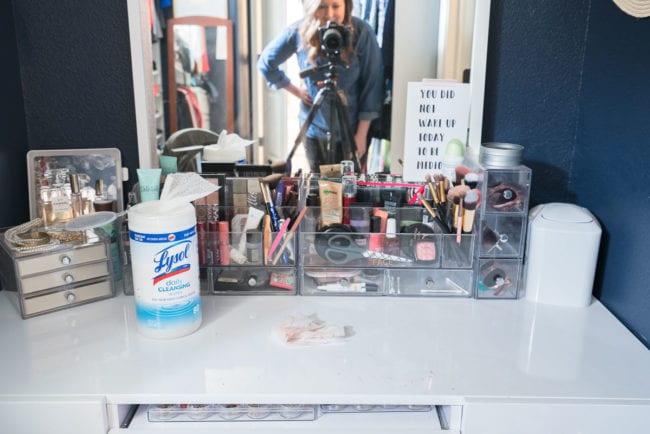 Clean Makeup Vanity
