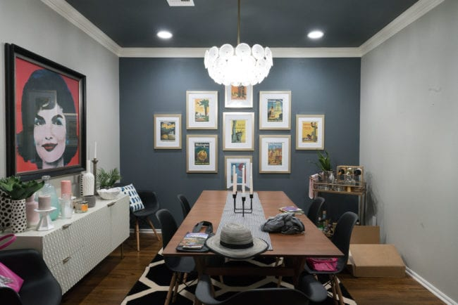 Selecting Art for Large Walls: Our Dining Room Update - Polished Habitat