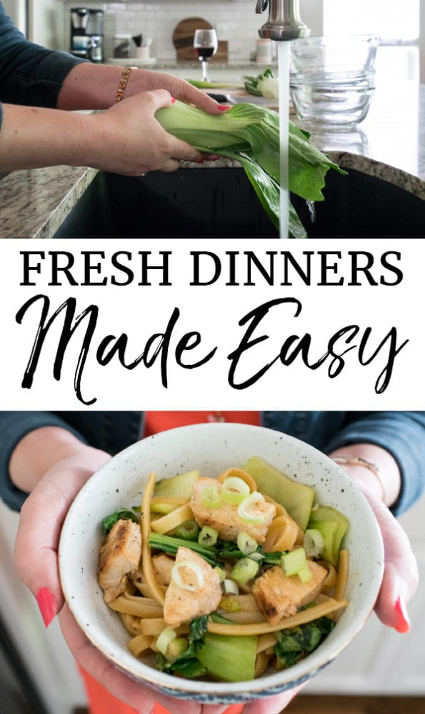 Fresh dinners the easy way