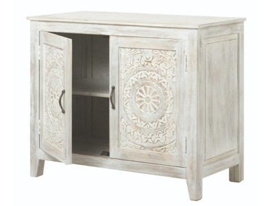 Unique nightstand with storage