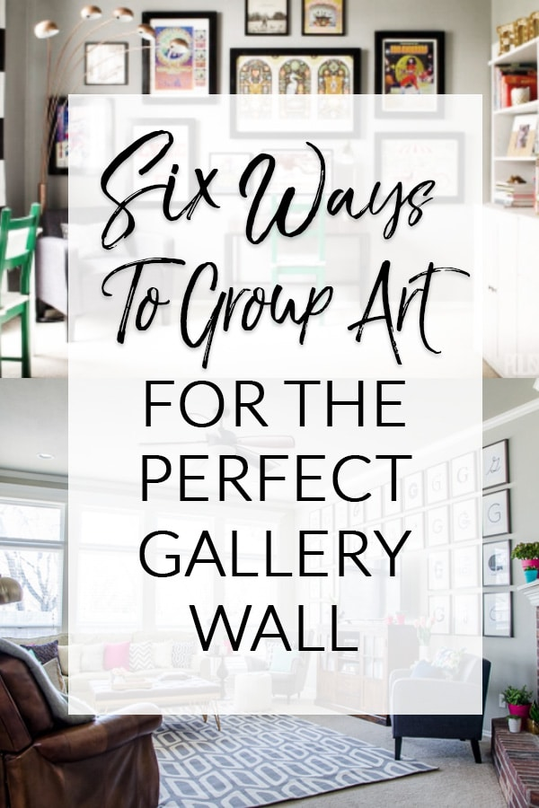 How To Group Art For A Gallery Wall Polished Habitat