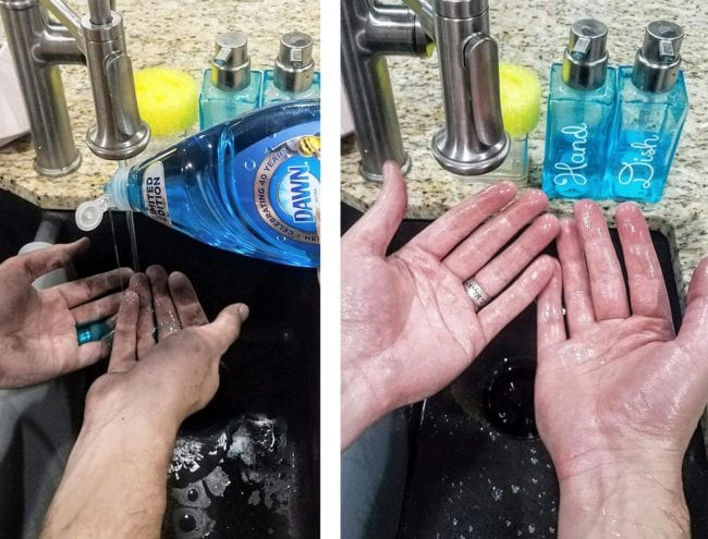 Removing Grease From Hands