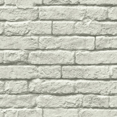 Gray Brick Removable Wallaper