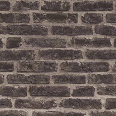 Classic Red Brownstone Brick Wallpaper