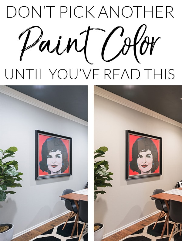 Tips for understanding how light impacts paint