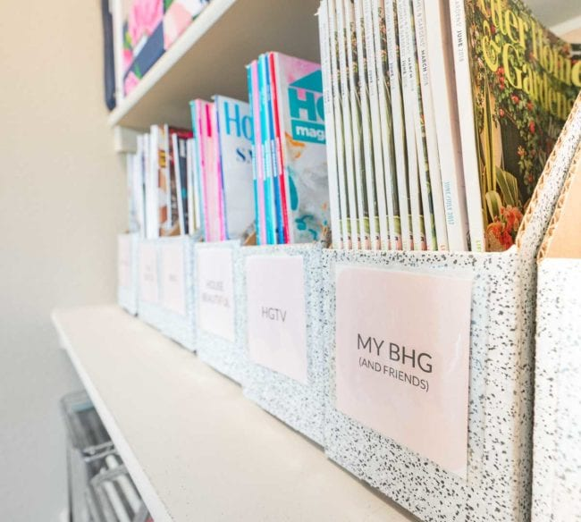 How to Organize Magazines