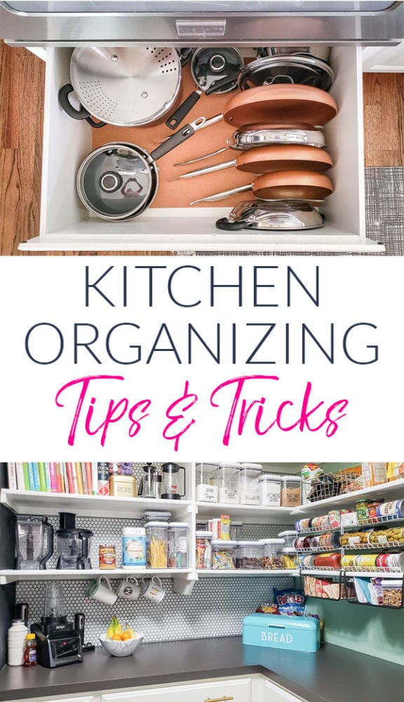 Kitchen Organizing Tips & Tricks
