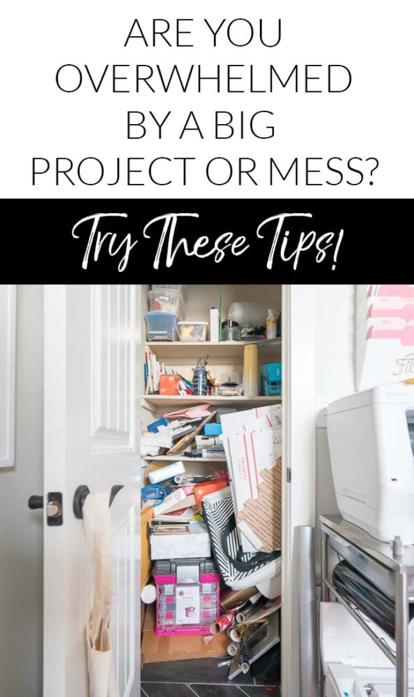 How to declutter and organize a big mess
