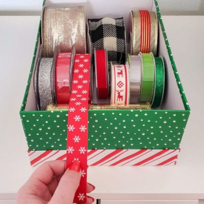 11 Christmas Things You Can Organize in Cheap Photo Boxes