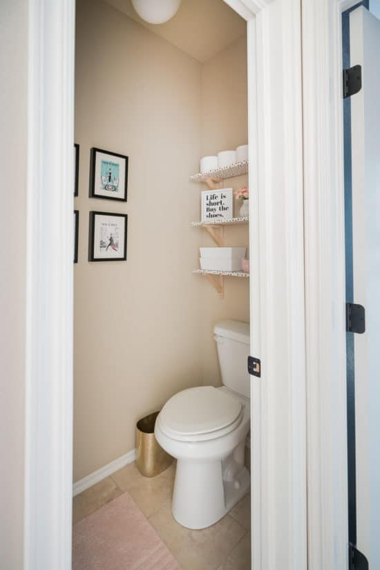 Toilet Water Closet Makeover