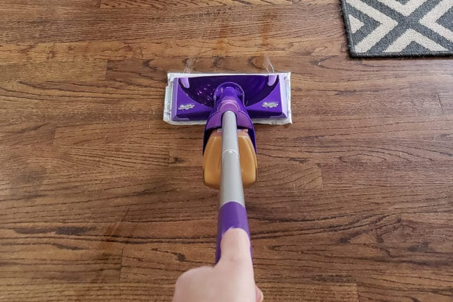 Swiffer WetJet Wood on Wood Floors