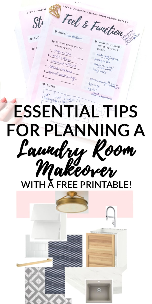 Essential Tips for Planning a Laundry Room Makeover