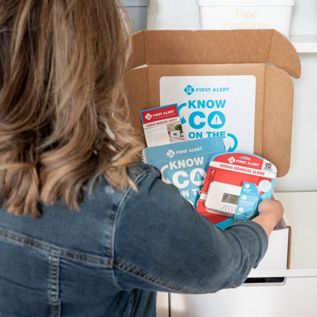 Know CO on the Go - Travel Carbon Monoxide Dectector in branded box