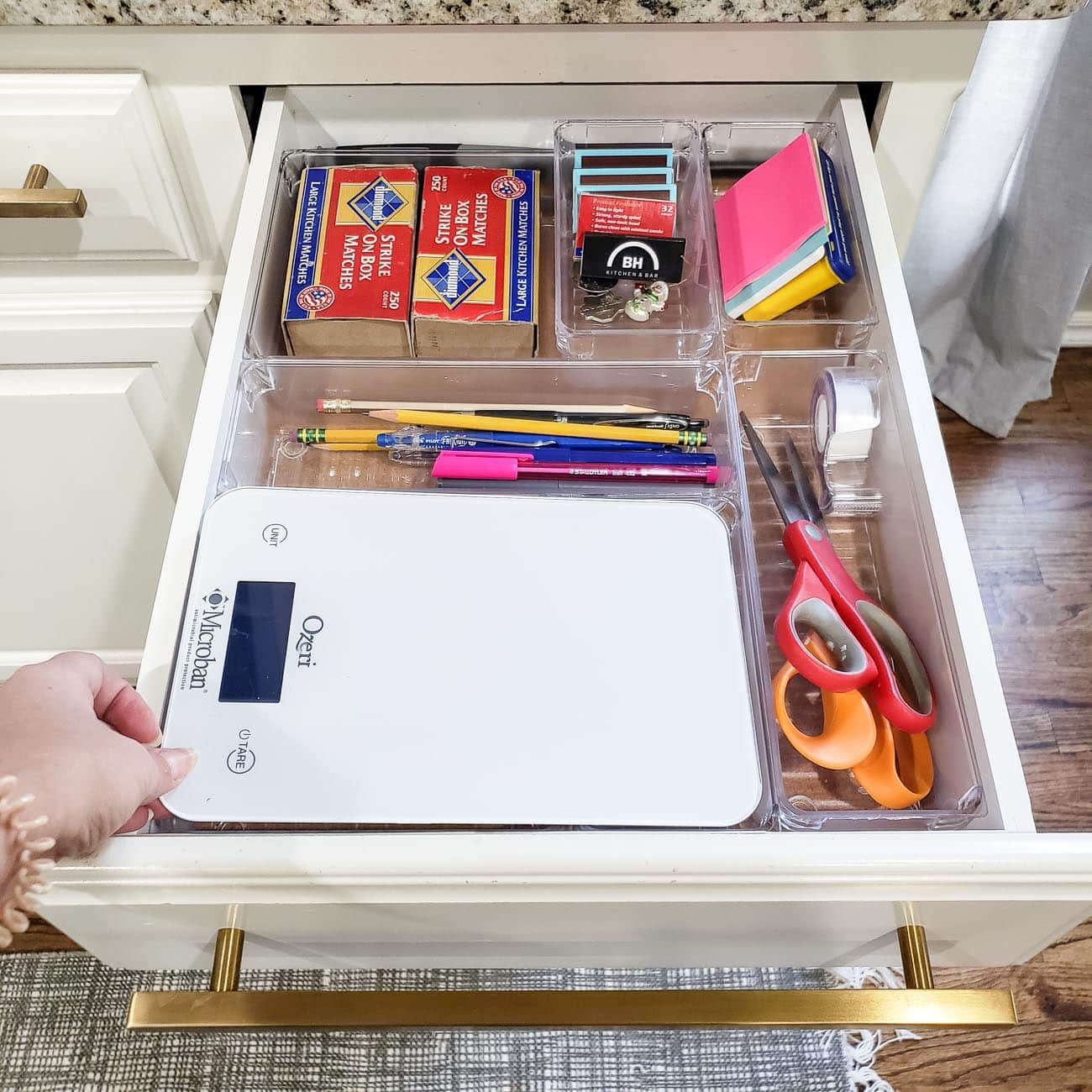 How to Organize Kitchen Drawers - Polished Habitat