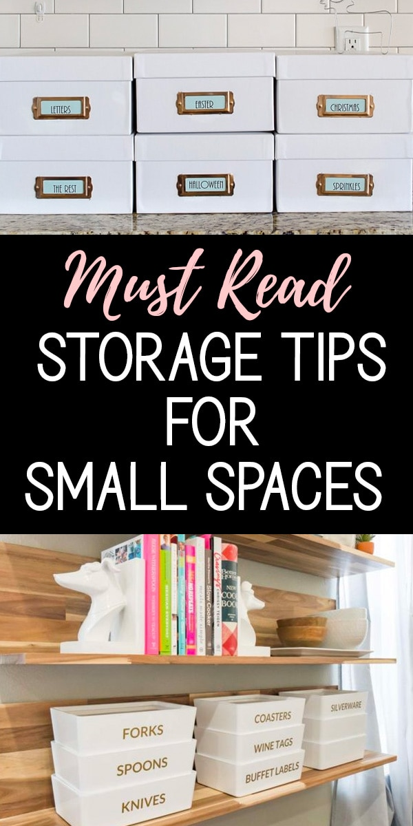 Must Read Storage Tips for Small Spaces