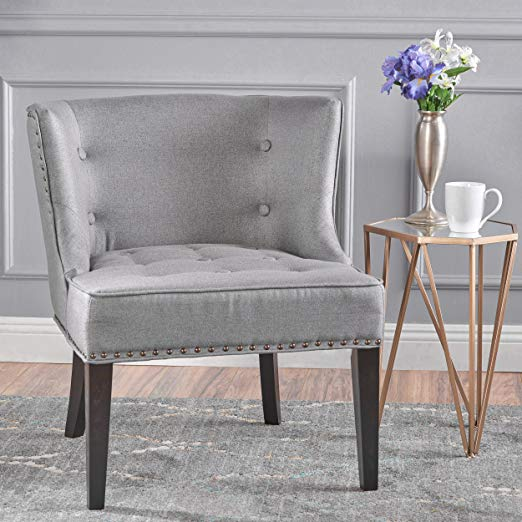 Occasional Chair with Nail Head Accents