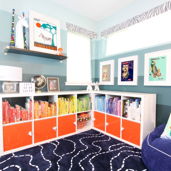 IKEA Hack: Bookshelf Makeover Without Paint