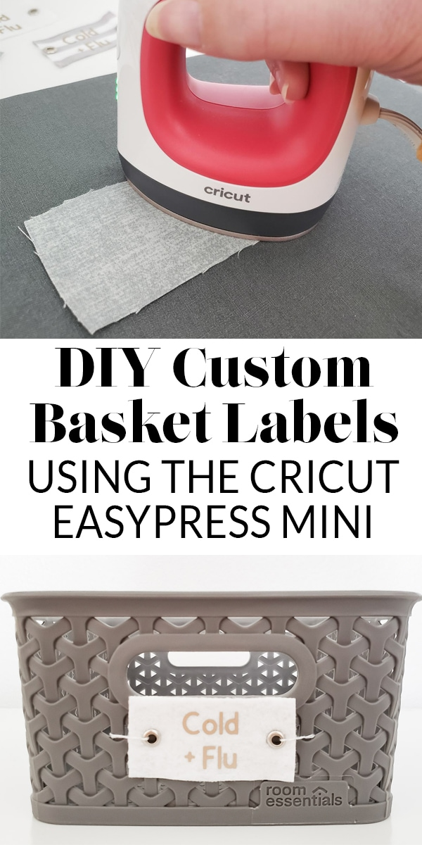 DIY Custom Basket Labels