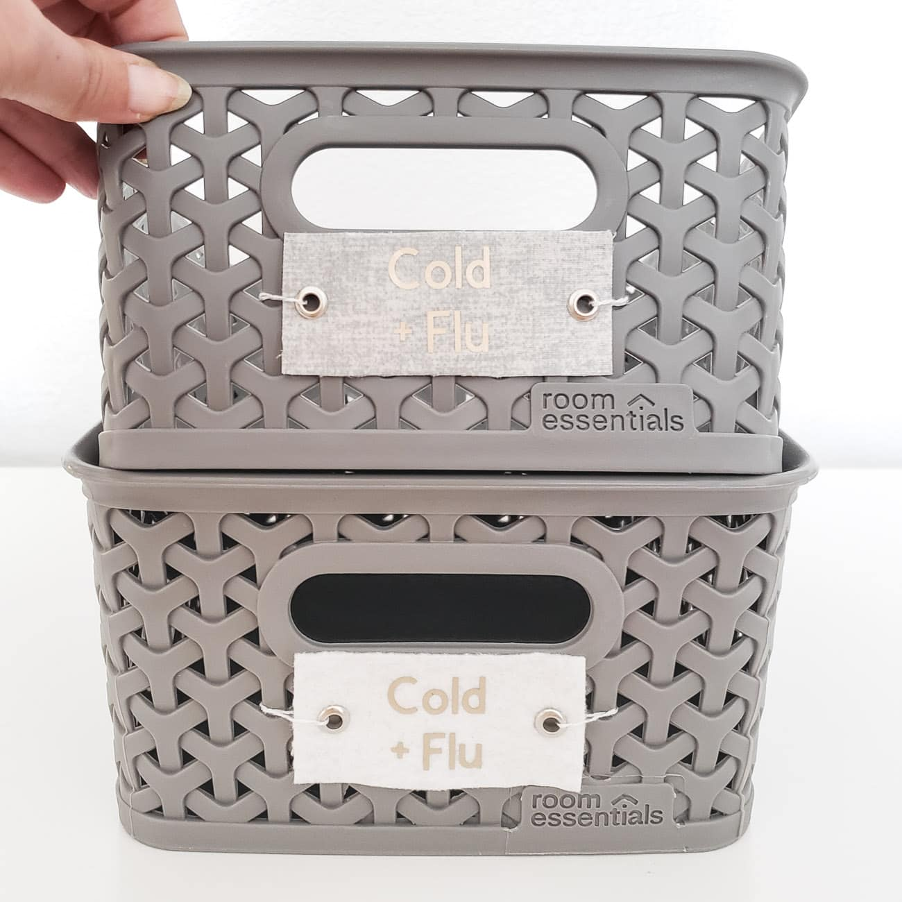 Diy Labels For Home Organization With The Cricut Easypress