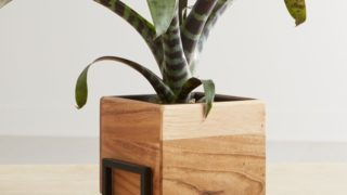 Wood and Metal Planter
