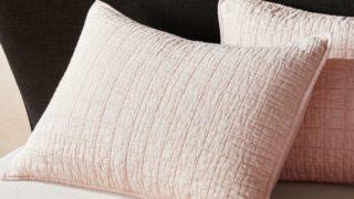 Blush Belgian Flax Linen Sham