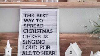 Christmas Letter Board Quotes & Sayings