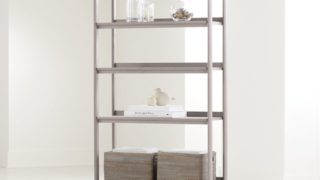 Tate Stone Wide Bookcase