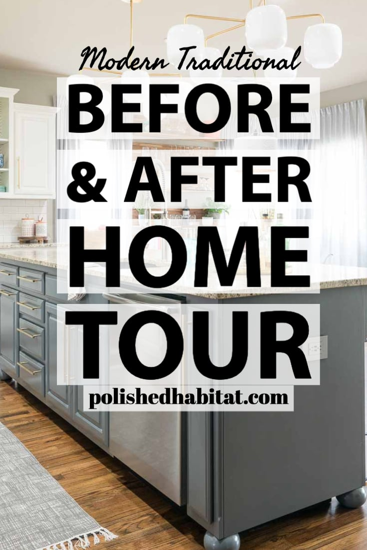 Before & After Home Tour