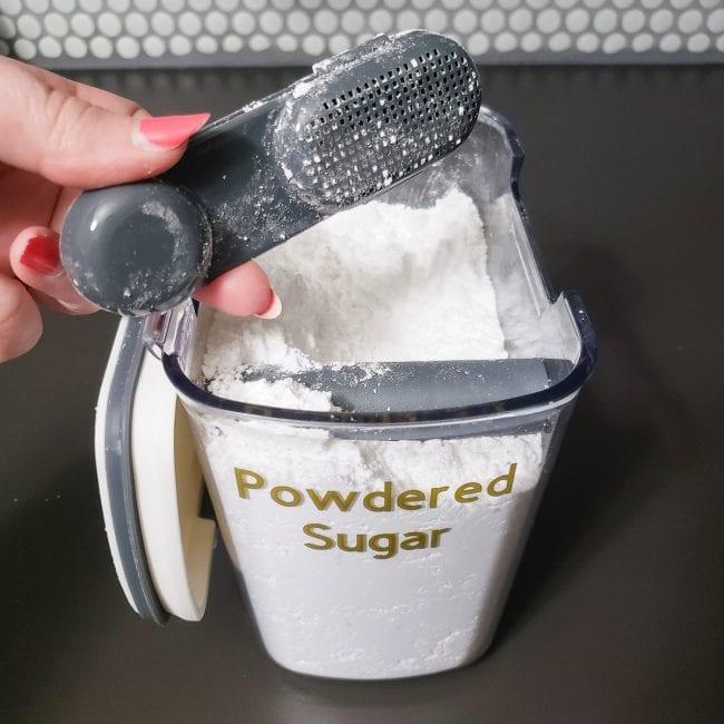Best Powdered Sugar Container
